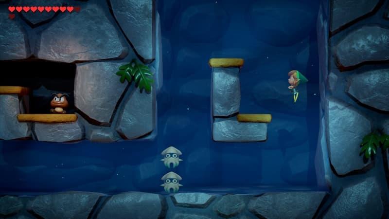 ゼルダの伝説 夢を見る島 クリボー